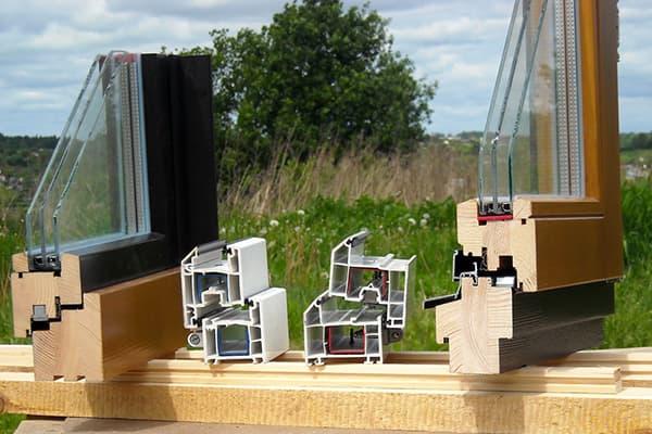Профили деревянных и пластиковых окон