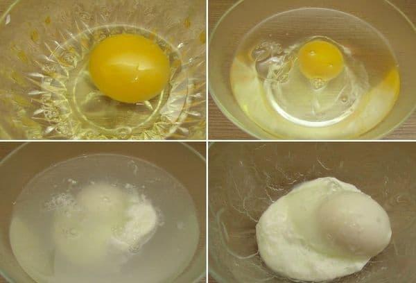 Яйцо пашот приготовление