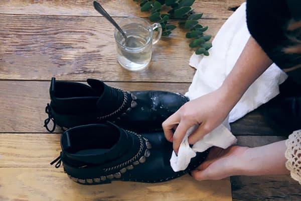 Защита обуви от соли и реагентов