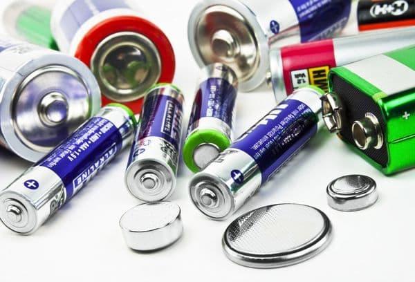Разные батарейки