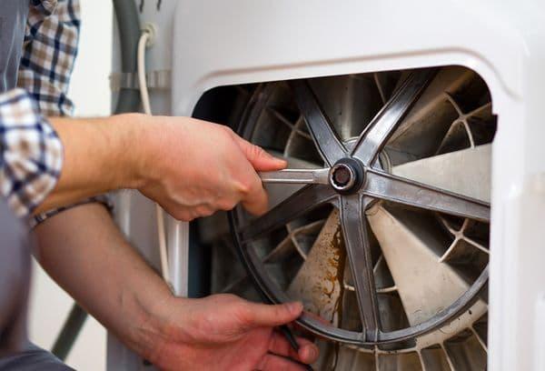 Смазка и ремонт стиральной машины своими руками: от амортизаторов до подшипника