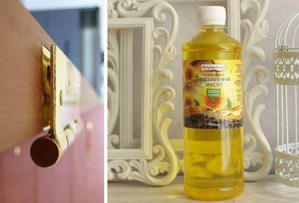 масло для смазки дверей