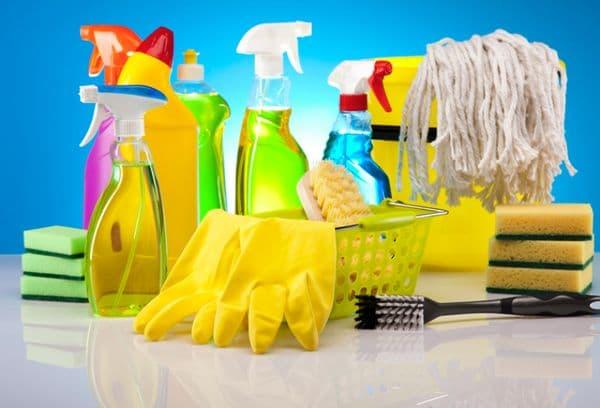 химикаты, средства для уборки
