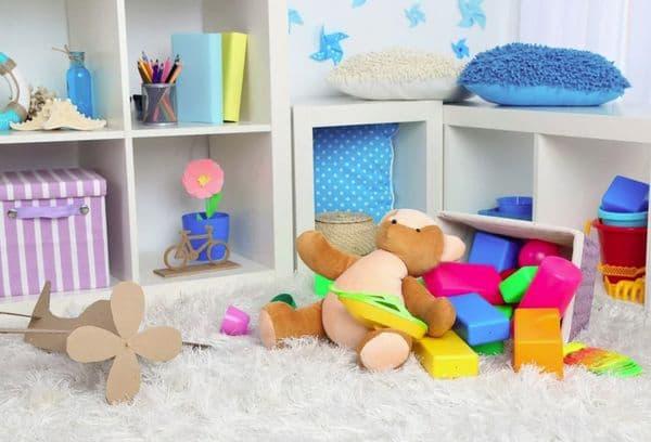 Игрушки в детской