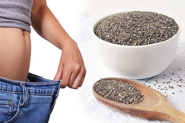 Семена чиа для похудения?