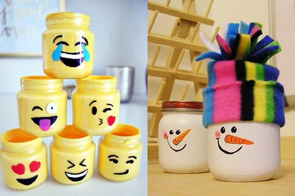 Игрушки из баночек от детского питания