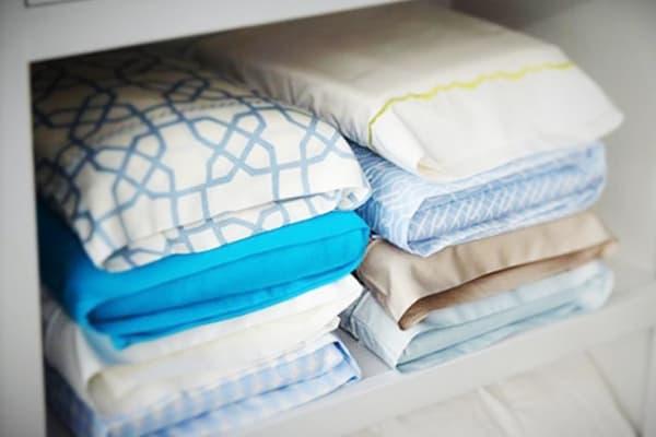 Компактное хранение постельного белья
