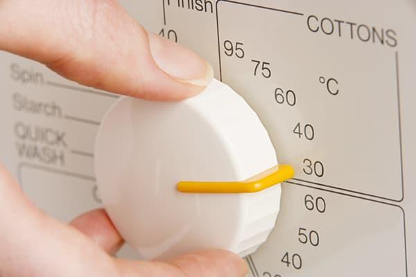 Выбор температурного режима стирки