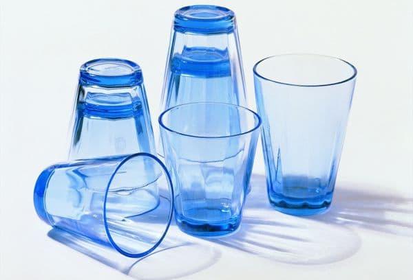 Синие стаканы