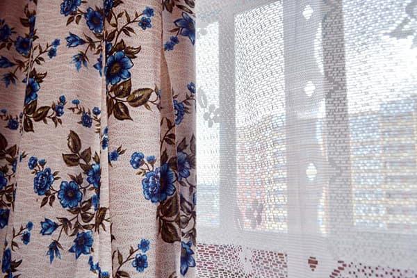 Старомодные шторы