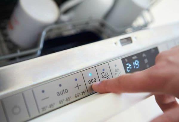 управление посудомоечной машинкой