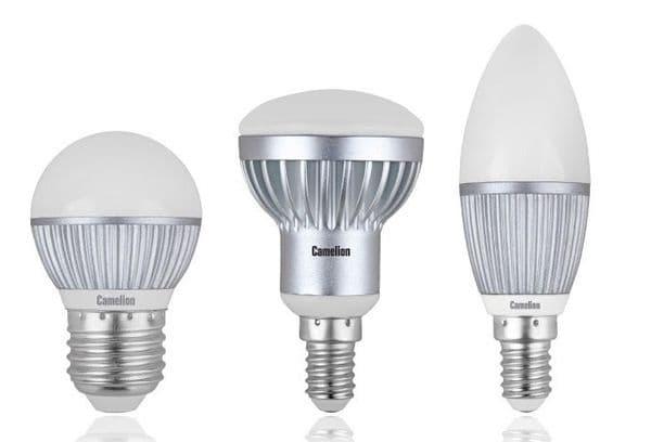 Три лампочки