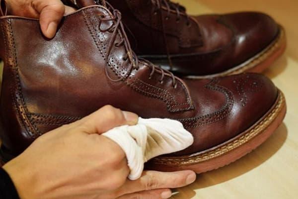 Полируем обувь