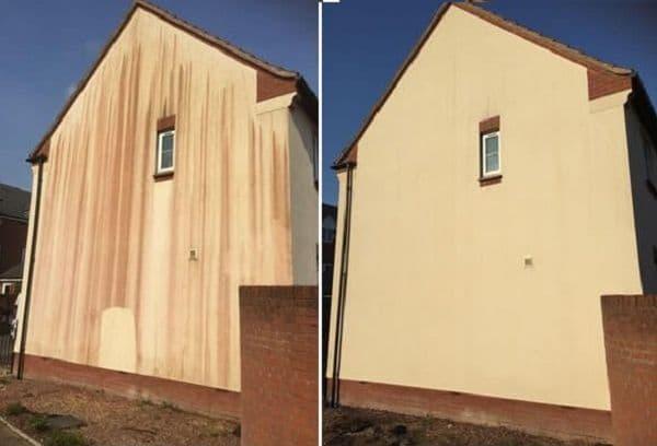 Дом до и после чистки