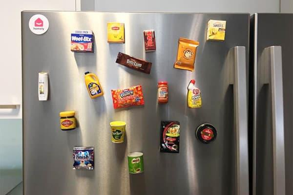 Магниты на холодильнике