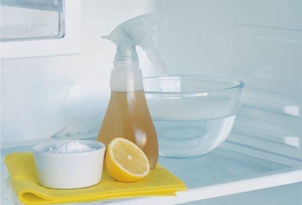 сода уксус и лимон для чистки