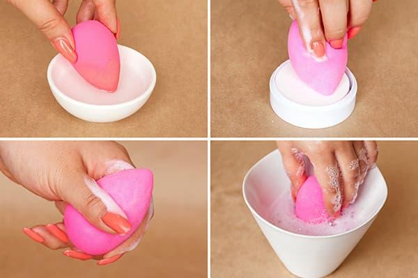 Мытье бьютибленера