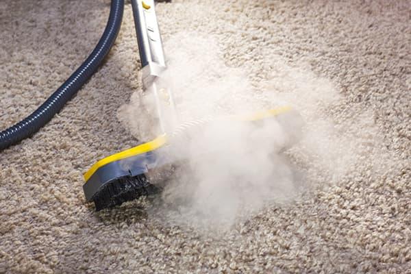 Пароочиститель на ковре