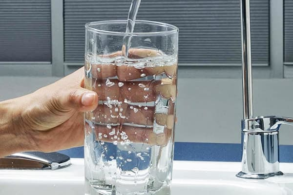 Фильтрованная вода из-под крана