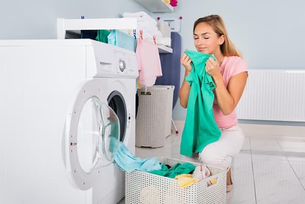 Свежее полотенце после стирки