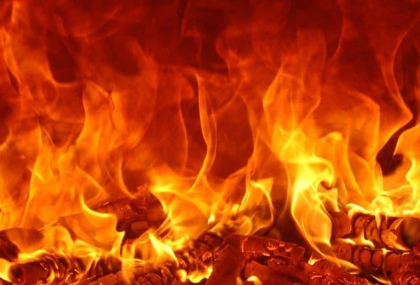 Пламя огня