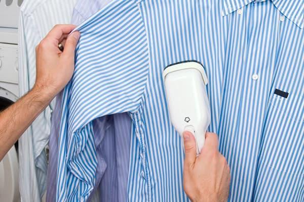 Отпаривание рубашки
