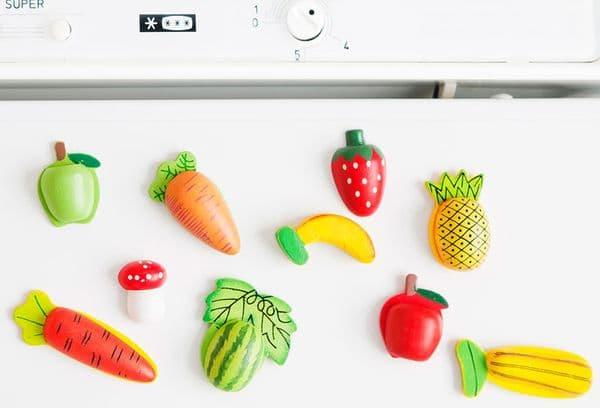 Магниты фрукты