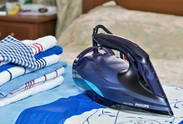 Поглаженные полотенца