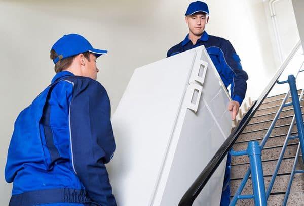 Перевозка холодильника через сервис