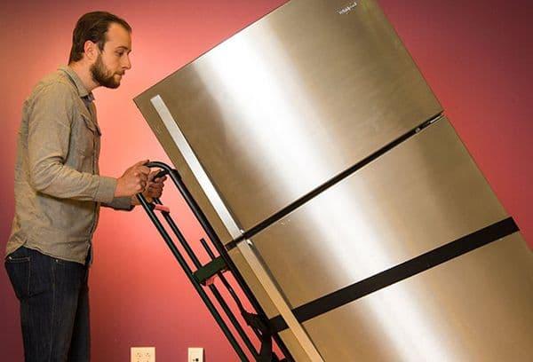 Ремни для перевозки холодильника