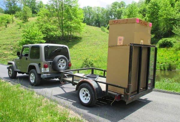 Транспортировка холодильника вертикальная