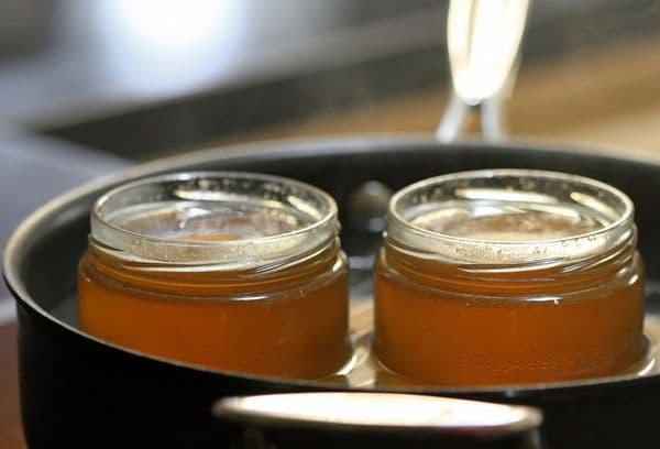 Нагревание меда