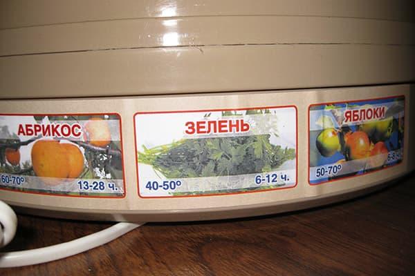 Электросушилка для фруктов и трав