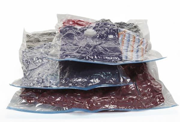 Одежда на зиму в пакетах