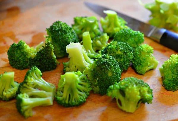 Разморозка брокколи