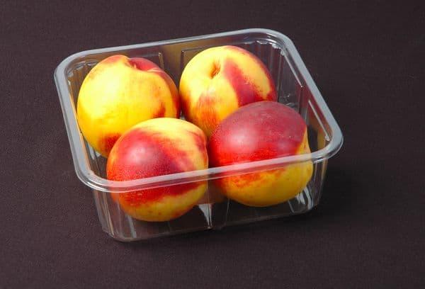 яблоки в одноразовом контейнере