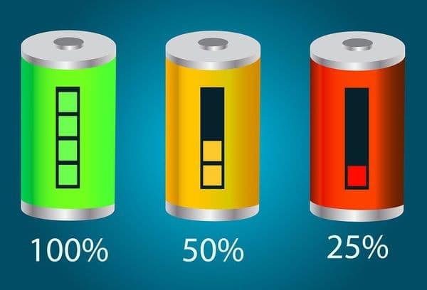 Зарядка батарей