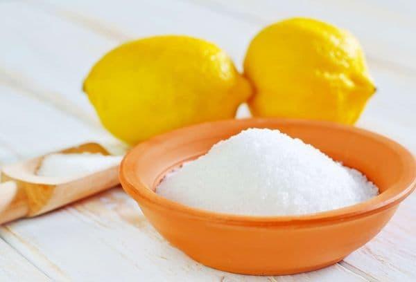 Лимонная кислота и лимон