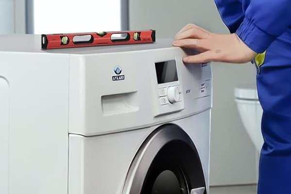 выравнивание стиральной машины по уровню