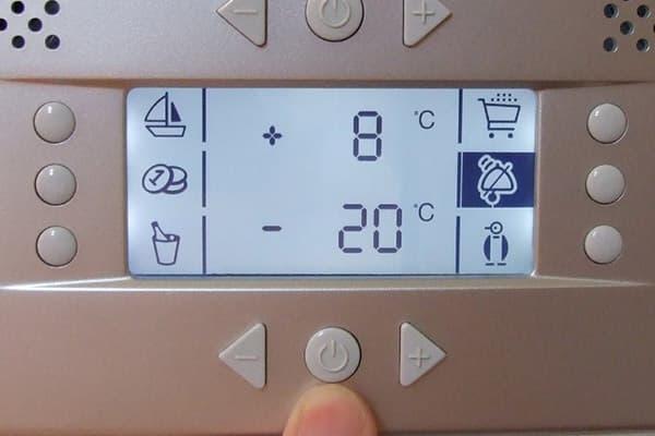 Выбор температурного режима холодильника и морозилки