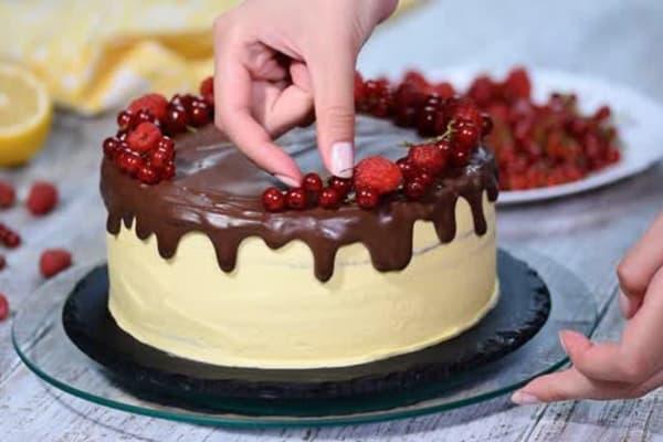 Приготовление торта на заказ