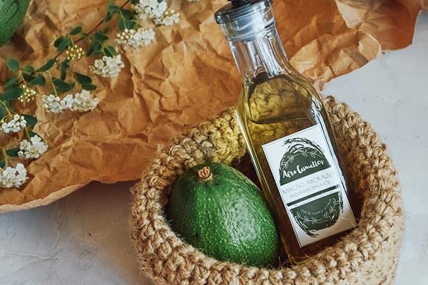 Масло авокадо нерафинированное