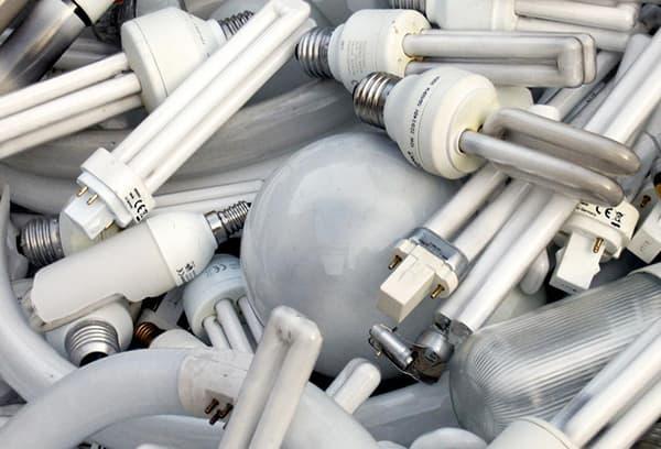Содержащие ртуть лампы