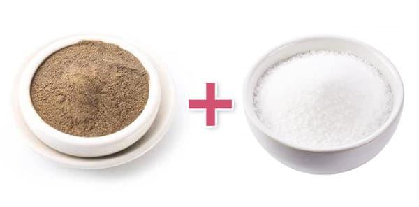 Черный перец и сахар от мух