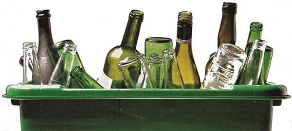 Бутылки от алкогольных напитков