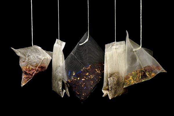Разные виды чайных пакетиков