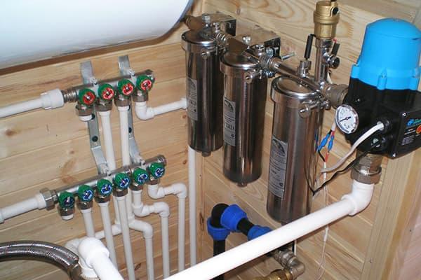Разводка воды в доме