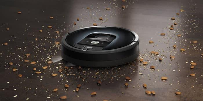 Общий вид пылесоса iRobot Roomba 981