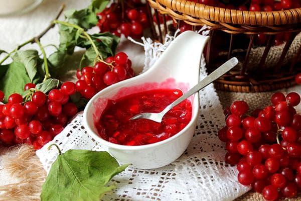 Варенье из ягод калины
