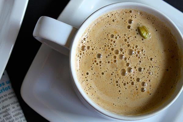 Чашка кофе с кардамоном